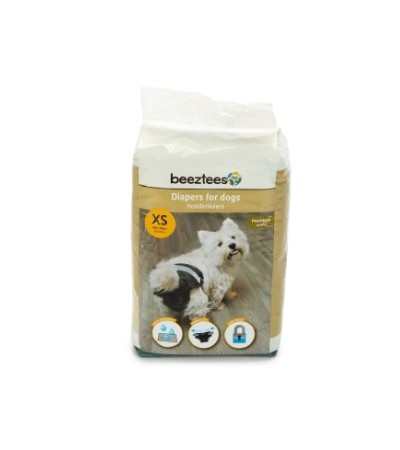 Beeztees DIAPERS FOR DOGS 22PCS XS - haf-haf.am